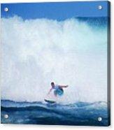 Pro Surfer Gabe King -6 Acrylic Print