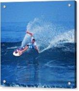Pro Surfer Jamie O Brien #1 Acrylic Print
