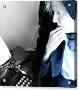 Professor In Writing  Acrylic Print
