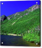 Profile Lake Franconia Notch Acrylic Print