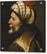 Profile Of A Barbary Pirate Acrylic Print