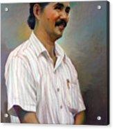 Prof.panya Petchoo Acrylic Print