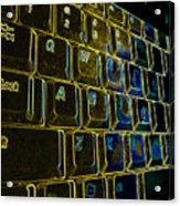 Progressive Keys Acrylic Print
