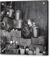 Prohibition Confiscated Stills  1920's Acrylic Print
