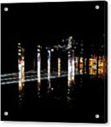 Projection - City 5 Acrylic Print