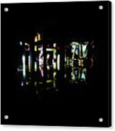 Projection - City 7 Acrylic Print