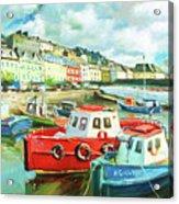 Promenade At Cobh Acrylic Print