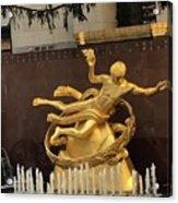 Prometheus Rockefeller Center Acrylic Print