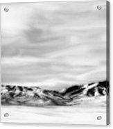 Promontory Mountains 2 Acrylic Print