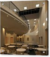 Proposed Performing Arts Lobby Acrylic Print