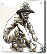 Prospector Acrylic Print