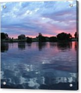 Prosser Pink Sunset 5 Acrylic Print