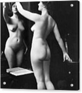 Prostitution, C1900 Acrylic Print