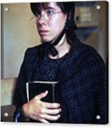 Protestant Woman Acrylic Print