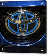 Prototype Toyota Mirai Logo Acrylic Print