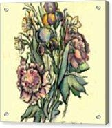 Proud Iris Acrylic Print