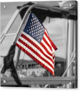 Proud Nautical American  Acrylic Print