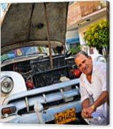 Proud Owner - Faces Of Havana Acrylic Print