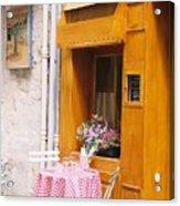 Provence Cafe Acrylic Print