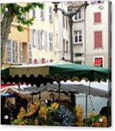 Provence Market Day Acrylic Print