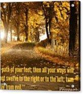 Proverbs104 Acrylic Print