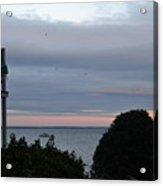 Provincetown At Dusk Acrylic Print