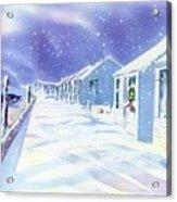 Provincetown Winter Acrylic Print