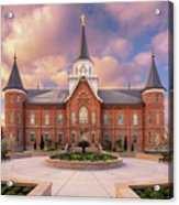Provo City Center Temple in Spring Acrylic Print