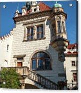 Pruhonice Castle Side View Acrylic Print