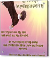 Psalm 103 Acrylic Print