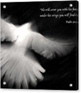 Psalm 91 Acrylic Print by Glennis Siverson