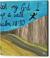 Art Therapy For Your Wall Psalm Art Acrylic Print