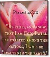 Psalms104 Acrylic Print