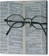 Psaumes 124 Acrylic Print