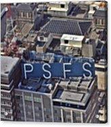 Psfs Building Acrylic Print