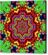 Psychedelic Construct Acrylic Print
