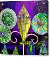 Psychedelic Garden 2 Acrylic Print