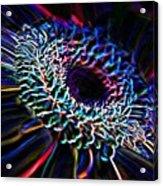 Psychedelic Neon Acrylic Print