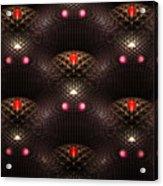 Psychedelic Pattern Acrylic Print