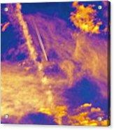 Psychedelic Skys Acrylic Print