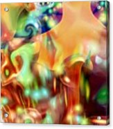 Psychedelic Xperiment Acrylic Print