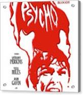 Psycho Acrylic Print by Ron Regalado