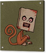 Psycho Sack Monkey Acrylic Print