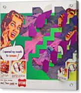 Psycho Scream Acrylic Print