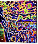 Psycho Acrylic Print