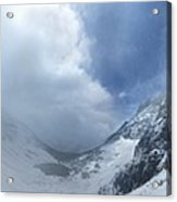 Ptarmigan Pass South Approach - Glacier National Park Acrylic Print