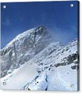 Ptarmigan Pass Tunnel South - Glacier National Park Acrylic Print