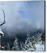 Ptarmigan Trail Overlooking Elizabeth Lake 2 - Glacier National Park Acrylic Print