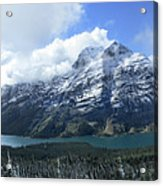 Ptarmigan Trail Overlooking Elizabeth Lake 5 - Glacier National Park Acrylic Print