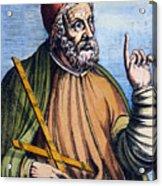 Ptolemy (2nd Century A.d.) Acrylic Print